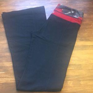 Lululemon yoga pants Reversible